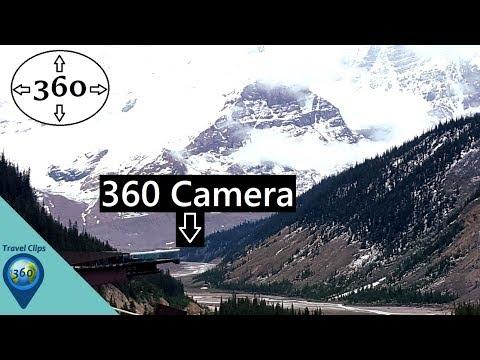 Step Into The Sky - Glacier Skywalk - Jasper National Park - 360° VR 4K - Extra Clips