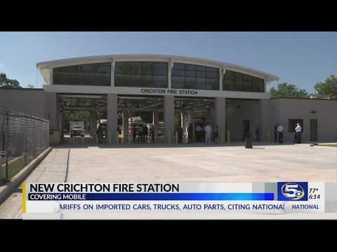 Mobile Fire Rescue Officially Opens New Crichton Fire Station