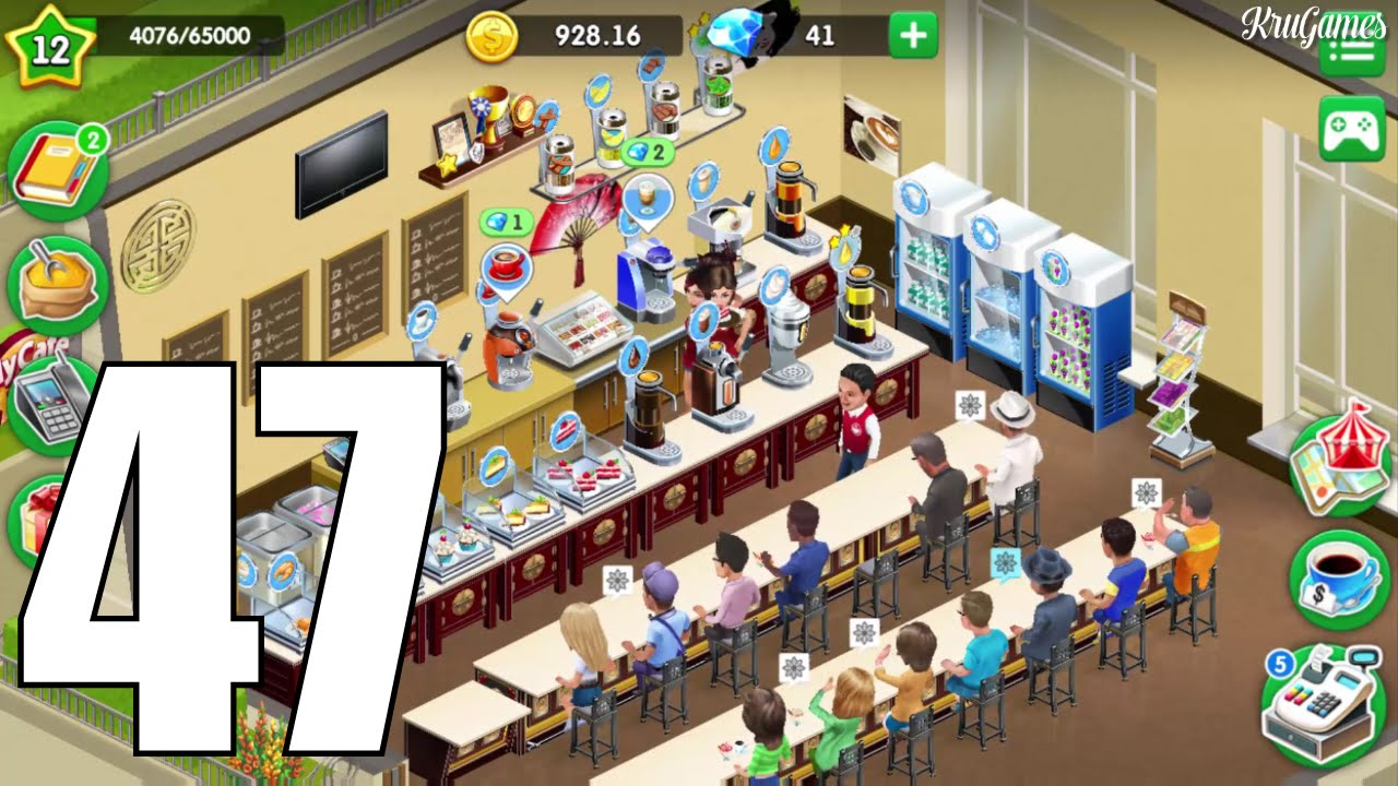 My Cafe Recipes Stories Android Gameplay 47 Level 12 Mint Tea