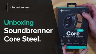 Soundbrenner Core Steel Unboxing