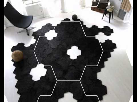 tapis puzzle esprit home assemblage de dalles youtube. Black Bedroom Furniture Sets. Home Design Ideas