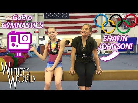 GoPro Gymnastics with Shawn Johnson and Whitney Bjerken