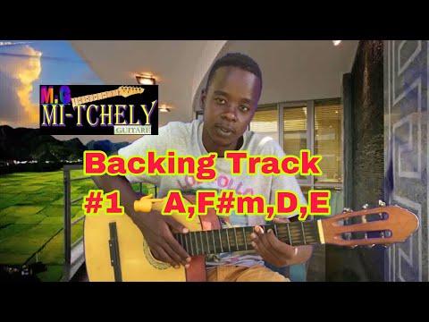 backing track kompa a,f#m,d,e