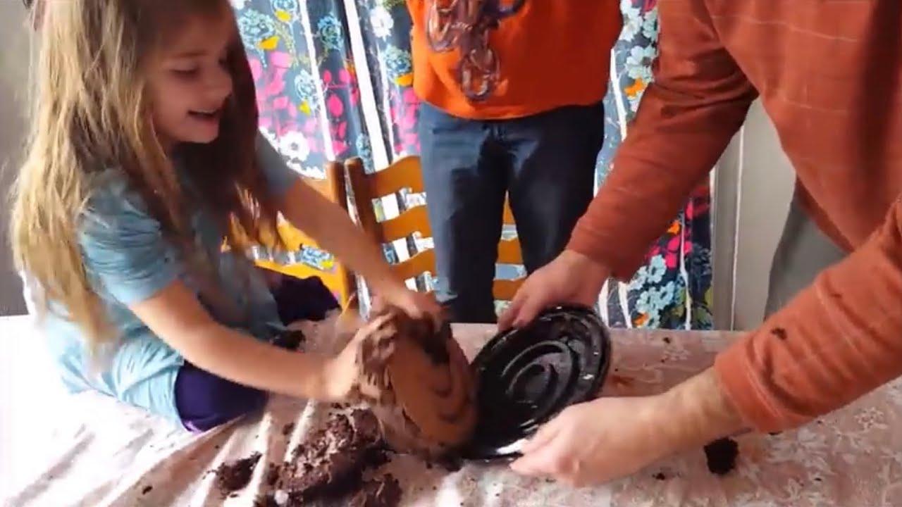 Birthday Cake Tantrum