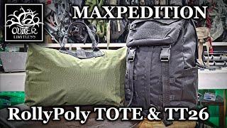 Maxpedition ZFTOTEDB Prepared Citizen Rollypoly Tote Bag Dark Blue
