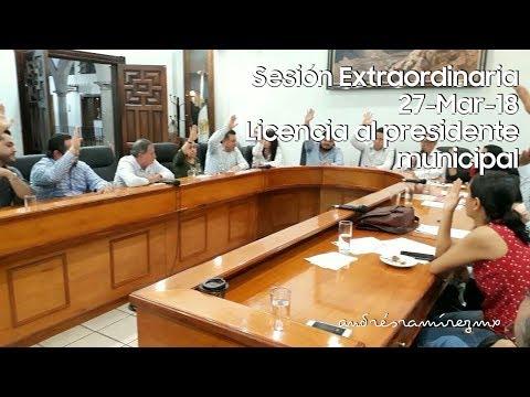 Ayuntamiento De Autlán | Licencia Sin Goce De Sueldo Para Fabricio Corona Vizcarra