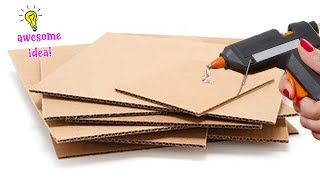 4 CLEVER WAYS TO REUSE/RECYCLE CARDBOARDS!! Best Reuse Ideas