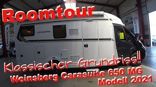 Wohnmobil 2021 Klassischer Grundriss Weinsberg 650 MG😊Unsere Roomtour😊