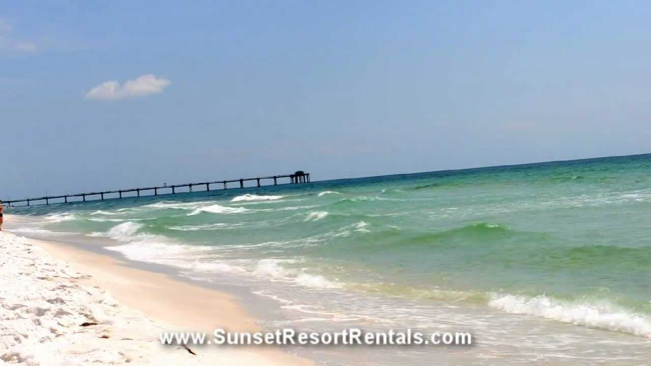Destin Ft Walton Beach Pier Florida Beaches Sunset Resort Als