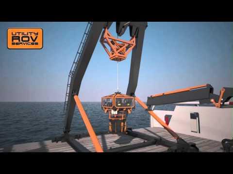 UTILITY ROV 3D animation video