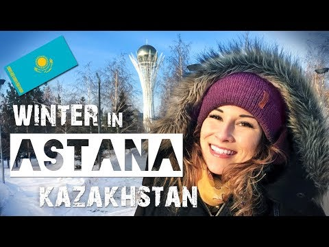 Winter in Astana KAZAKHSTAN | ZuzArt