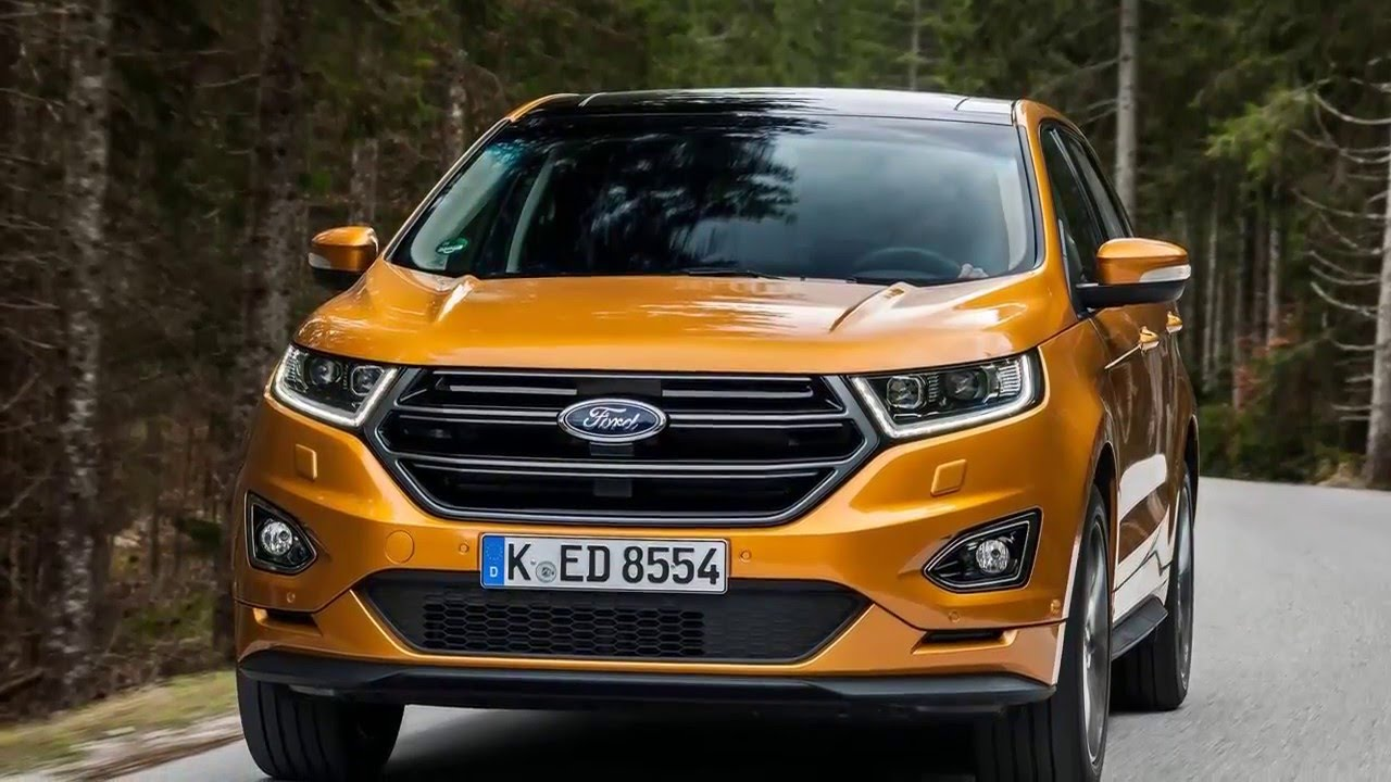 Ford Edge 2017 Upscale Sport Utility Vehicle Suv Delivers Premium Levels Of Comfort You