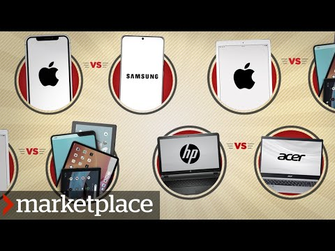 Which phone, laptop and tablet brands break down the most? (Marketplace)