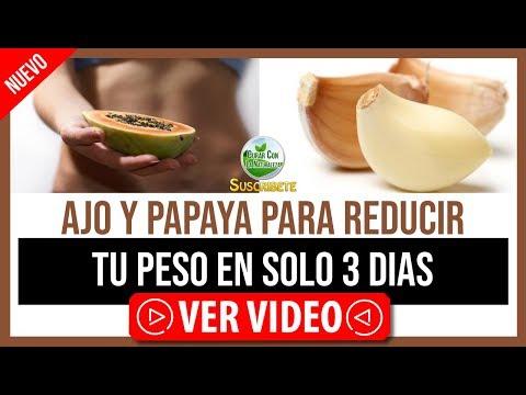 EL AJO Y LA PAPAYA SON LA SOLUCIÓN ¡REDUCE TU PESO EN 3 DÍAS CON ESTOS INGREDIENTES MILAGROSOS!