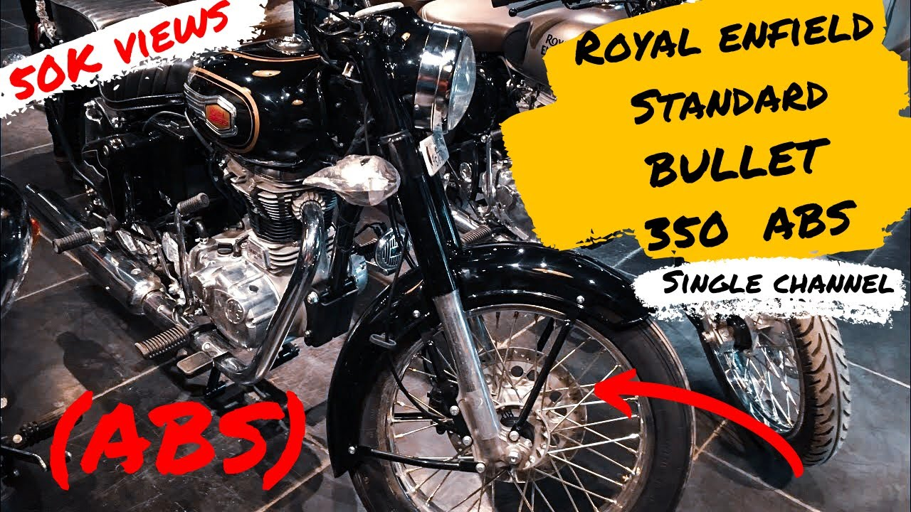 Royal Enfield Bullet Standard 350cc with ABS 2019 🔥  Mukul Verma Films  