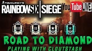 Hunting Diamond   Rainbow Six Siege With CLOUTSTASH!!!