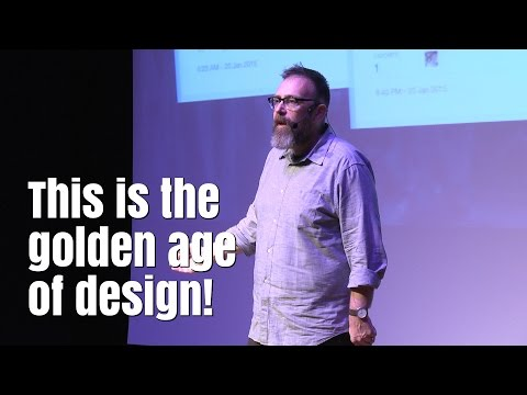 This is the golden age of design! …and we're screwed / Mike Monteiro - UX Salon 2016