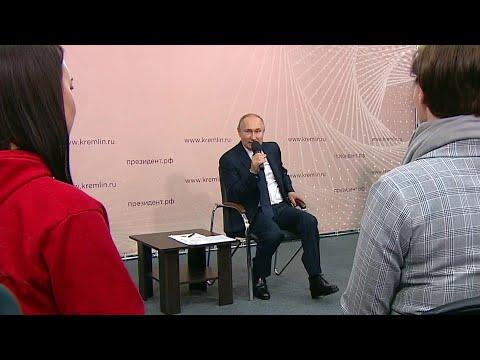 Владимир Путин в Липецкой области встретился с представителями общественности.