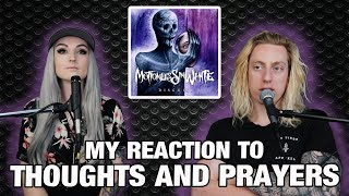 Metal Drummer Reacts: Thoughts And Prayers by Motionless In White