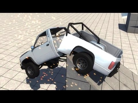 BeamNG.drive - Jumping in Sun Gravity