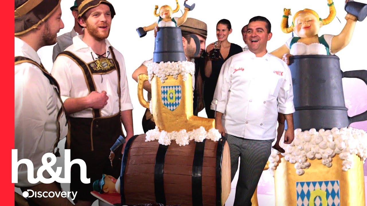 Download ¡Delicia espumante! Buddy hace un pastel de cerveza para el Oktoberfest | Cake Boss | Discovery H&H