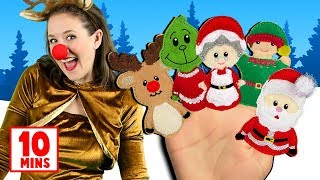 Christmas Finger Family, Jingle Bells & more Christmas Songs for Kids! Popular Christmas Songs