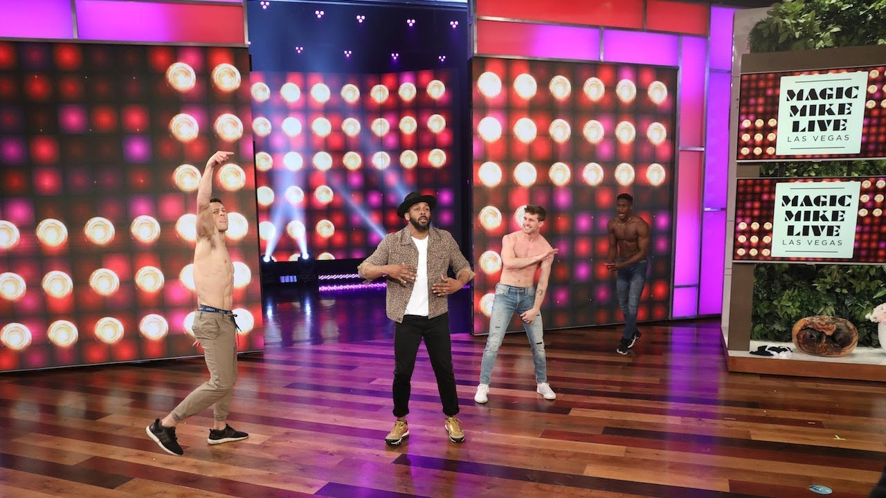 tWitch & 'Magic Mike Live' Hunks Heat Up Valentine's Day