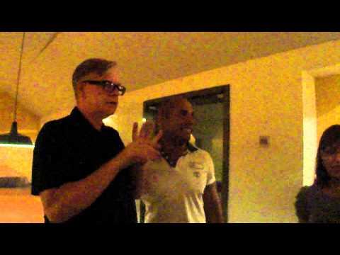 Andy Fletcher (Depeche Mode) having a nice chat with devotees in Rio de Janeiro, Brazil (HD)