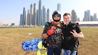 Скайдайвинг Дубай . Skydive Dubai . Мой прыжок с 4000 м.
