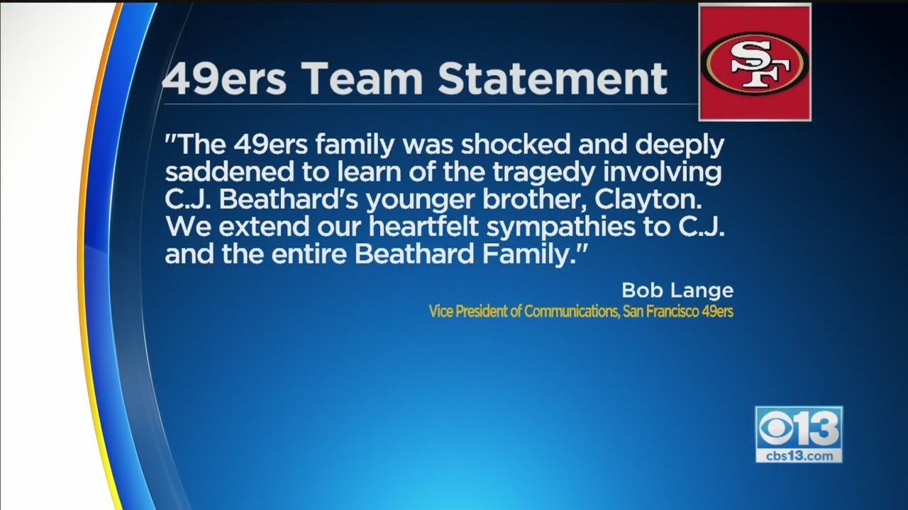 Brother of 49ers' C.J. Beathard killed in stabbing