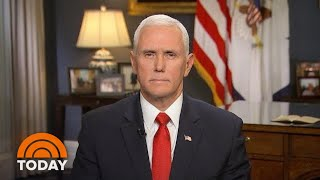 Vice President Mike Pence: Iran Was Trying 'To Kill Americans' In Iraq | TODAY