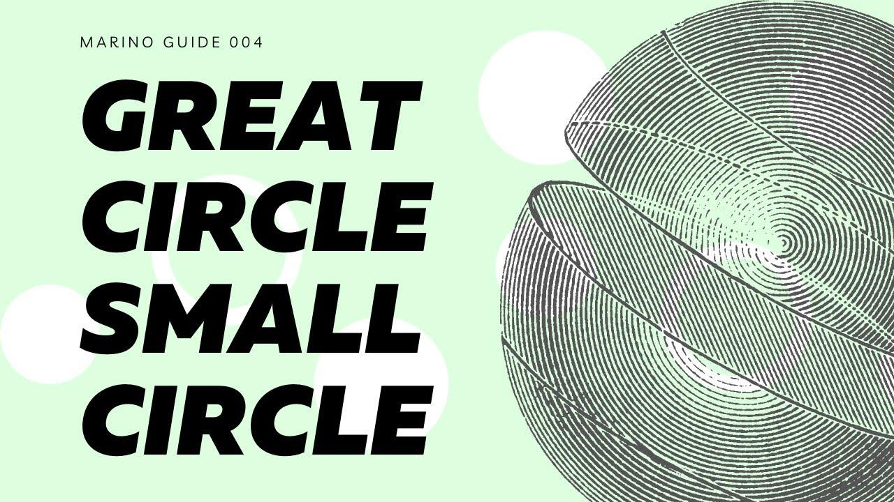 Great Circles Small Circles (Definition & Examples) | Marino Guide 004