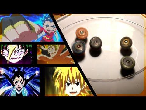 BC Sol 5 Way Battle : Beyblade Burst Evolution