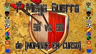 Clash of Clans. Mega G. del nuevo grupo de Clanes (nombre en proceso) en el Clan creppy pasta