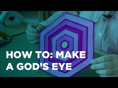 How to Make a God's Eye