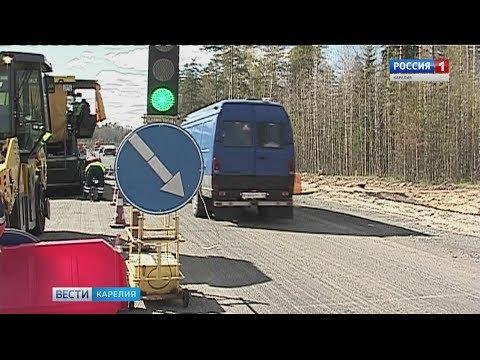 ГИБДД Петрозаводска напомнила дорожным рабочим о безопасности