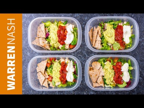 Meal Prep for Weight Loss 166 Calorie Mexican Chicken Salad Recipe Warren Nash