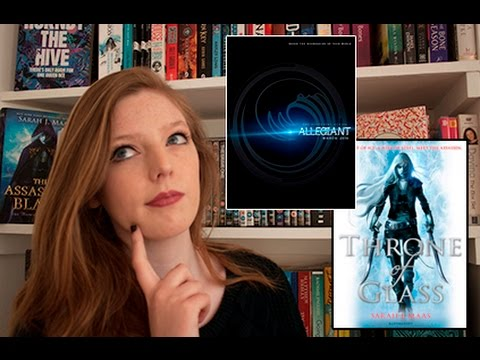 MOVIE CHAT | Throne of Glass TV Show, Allegiant Trailer Reaction, Mockingjay!