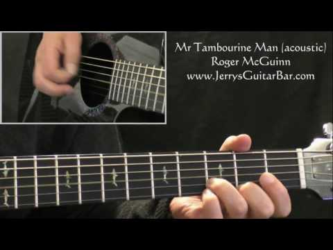 How To Play Roger McGuinn (Byrds) Mr Tambourine Man (intro riff only)