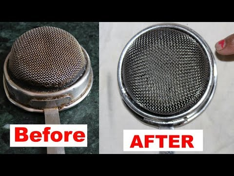 Chai channi/Tea Strainer-चाय छनी कैसे साफ करें Chai chani ko kaise Saaf Kare-Tips For Cleaning