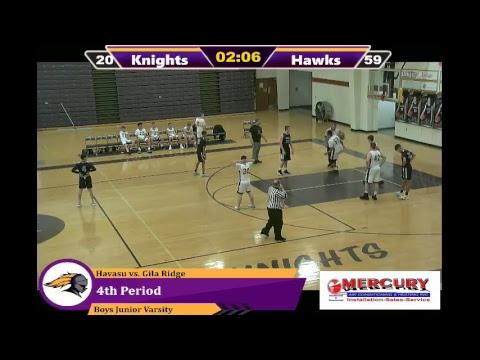 Lake Havasu High School vs Gila Ridge High School Boys Junior Varsity Basketball 1/8/19