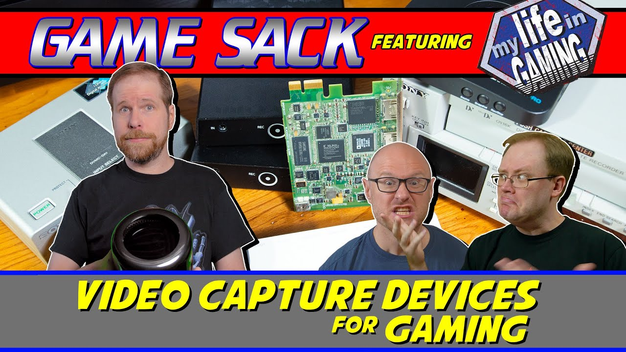 Video Capture Devices for Gaming - Game Sack