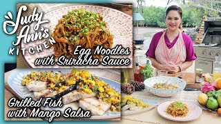 [Judy Ann's Kitchen 9] Ep 2 : Grilled Fish, Salad Grains, Egg Noodles | Media Noche Handaan
