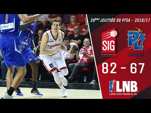 SIG Strasbourg/Paris-Levallois: Highlights&réactions Paul Lacombe