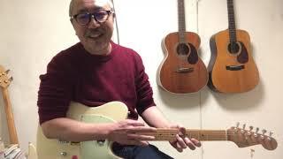 Tatsuro Yamashita PLASTIC LOVE (Intro Guitar Lesson)