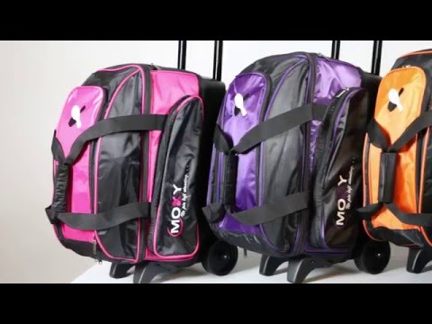 Moxy Double Roller Bowling Bag - YouTube 1a7840a60c