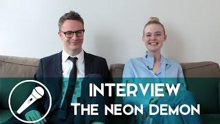 « The Neon Demon » au cœur d'un débat entre Elle Fanning & Nicolas Winding Refn