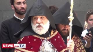 Ծիծեռնակաբերդի հուշահամալիրում հարգանքի տուրք մատուցվեց ի հիշատակ Պոնտոսի հույների ցեղասպանության