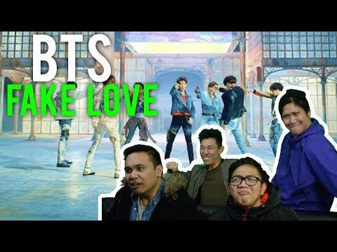 "BTS Have No ""FAKE LOVE"" (MV Reaction) #BLOODYBEAUTIFUL"
