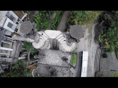 Las Pozas, Xilitla, desde el aire - DJI Phantom